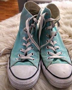 Converse Chuck Taylor sneakers seafoam green/white